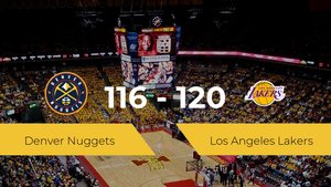 Los Angeles Lakers gana a Denver Nuggets por 116-120