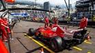 Los Ferrari siguen mostrándose fuertes, también en Mónaco