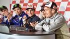 Los pilotos españoles mandaron mensajes de apoyo a Hayden