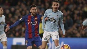 Messi y Aspas lo son todo para sus equipos y este jueves se ven las caras