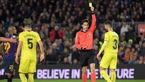 Munuera Montero dirigió el reciente FC Barcelona - Villarreal