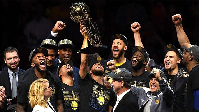 NBA VIDEO | Los Warriors, campeones de la NBA