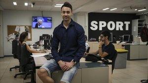 Paco Sedano, el pasado 21 de junio en SPORT