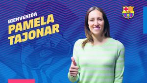 Pamela Tajonar, nueva jugadora del Barcelona femenino
