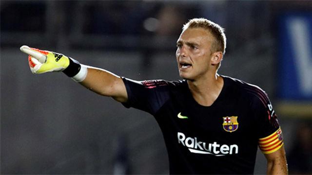 El paradón de Cillessen que salvó al Barça