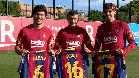 Pedri, Aleñá y Trincao ya lucen sus nuevos dorsales