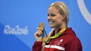Pernille Blume, la nadadora más rápida den Río 2016, se operó el corazón