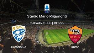 Previa del encuentro: Brescia Calcio - AS Roma