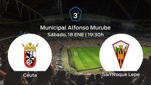 Previa del partido: Ceuta - San Roque Lepe