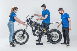 El proyecto Dayna, una moto muy especial