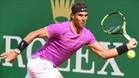 Rafa Nadal tuvo que sudar en su debut en Montecarlo