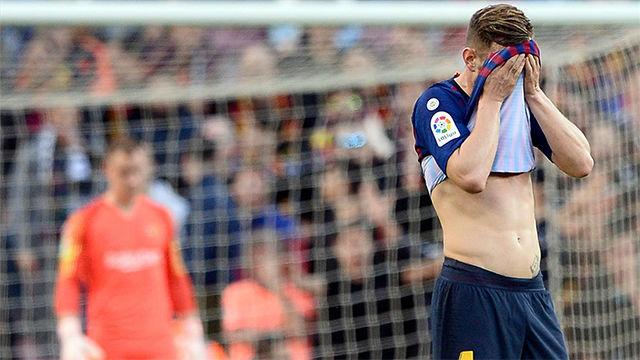 Rakitic fue expulsado y se perderá el partido ante el Atlético