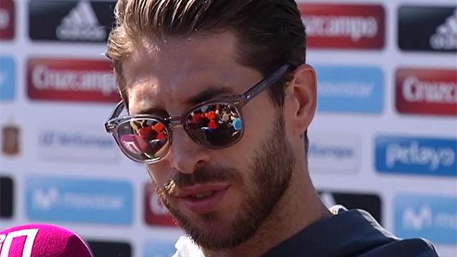 Ramos habló de su relación con Piqué