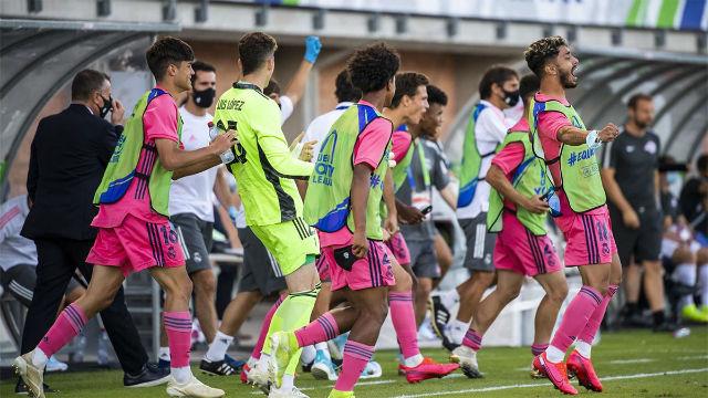 Resumen de la semifinal Salzburgo - Real Madrid de la Youth League (1-2)