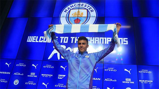 Rodri: Es un sueño venir al Manchester City