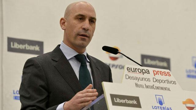 Rubiales anuncia una Supercopa en el extranjero a modo Final Four