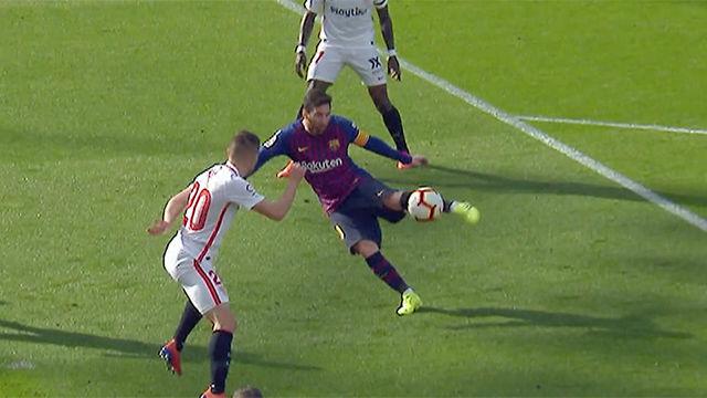 Saldrá en todos los recopilatorios sobre Messi: ¡Escandalosa volea del astro argentino!