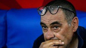 Sarri ya es historia en la Juve