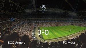 El SCO Angers se queda con los tres puntos frente al FC Metz (3-0)