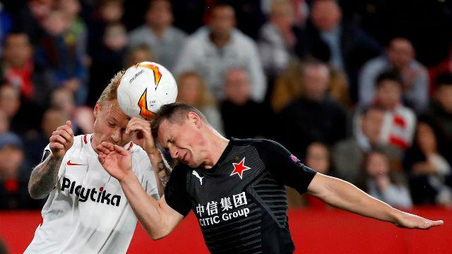 El Sevilla se estrella en Europa