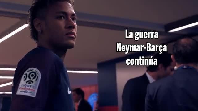 Sigue la guerra Barça-Neymar