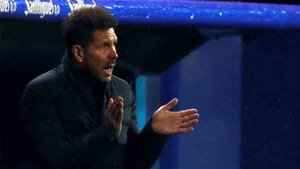 Simeone habló tras perder ante el Eibar