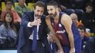 Sito Alonso y Juan Carlos Navarro mostraron su satisfacción por la victoria