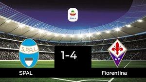 El SPAL cae derrotado ante la Fiorentina (1-4)