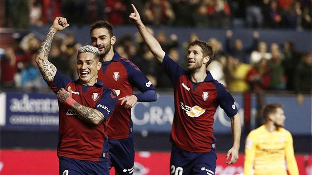 Taconazo de Adrián y trayazo del Chimy: así fabricó Osasuna el gol del empate