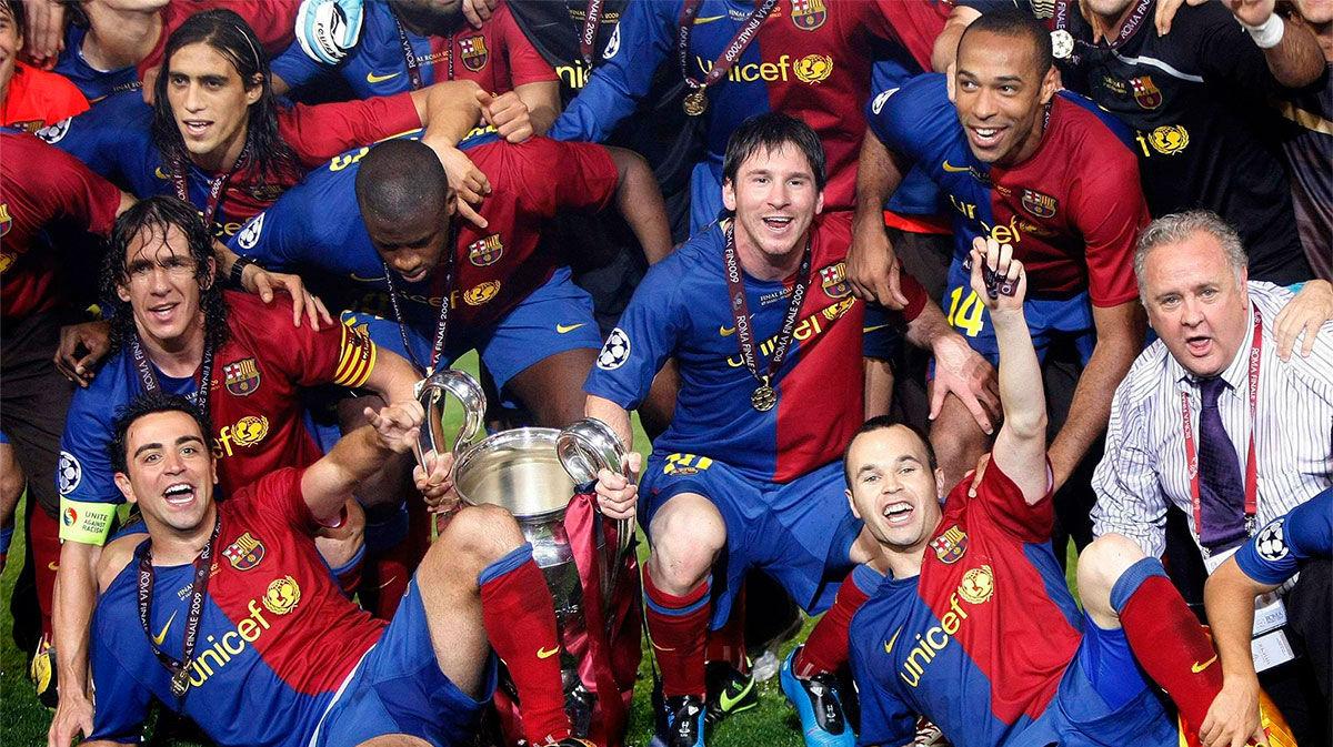 Tal día como hoy el Barça ganaba su primer triplete. ¡Qué recuerdos!