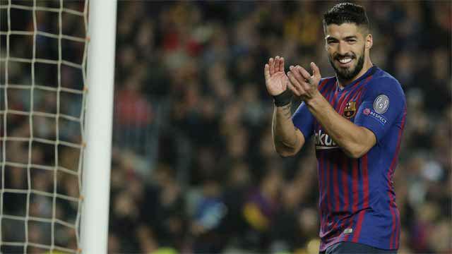 Tan solo faltó la definición: gran jugada de Suárez con caño incluido