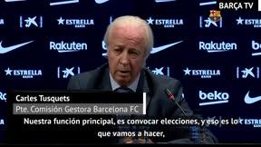 Tusquets: Convocaremos elecciones lo antes posible
