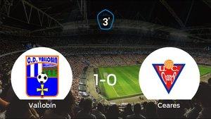El Vallobin CD consigue la victoria ante el UC Ceares (1-0)