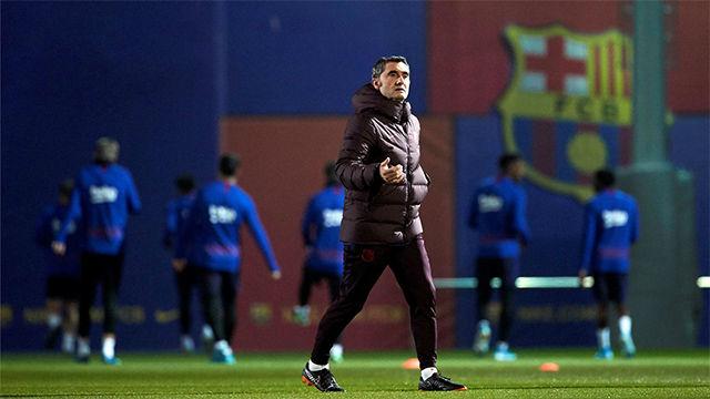 Valverde: Cualquier partido que juegues en el campo del Atlético es un exámen