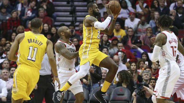 Victoria a domicilio de los Lakers ante Houston Rockets