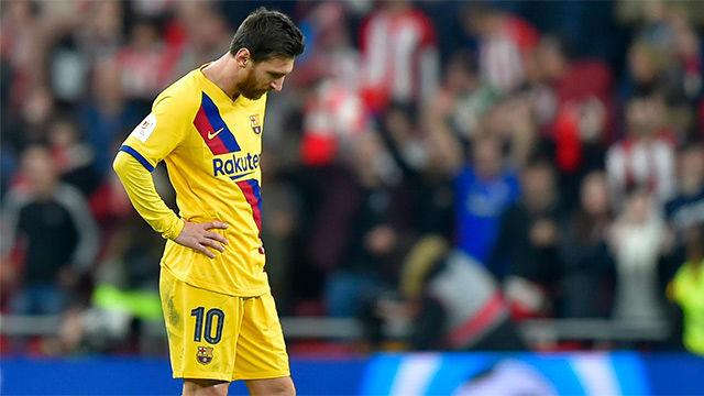 El video de una derrota cruel: así fue el KO del Barça en San Mamés