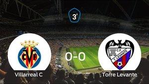 El Villarreal C y el Torre Levante se repartieron los puntos tras un empate a 0
