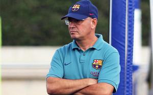 Xavi Llorens, entrenador del Barça femenino