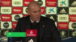 Zidane: Estoy triste porque cuando pierdes es que algo ha pasado