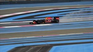 Ricciardo, durante un test en Paul Ricard hace dos años