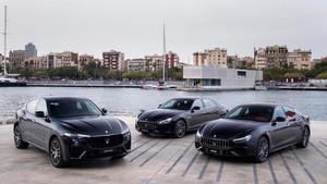 Maserati presenta sus nuevos coches en Barcelona.
