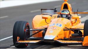 Alonso corrió las 500 millas de Indianapolis de 2017.