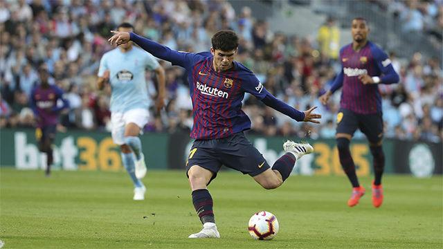 El 1x1 del Barça ante el Celta