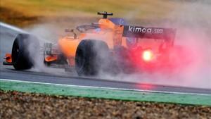 Alonso partirá desde la undécima posición en parrilla
