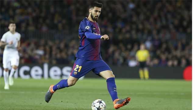 André Gomes, con pie y medio fuera del Barça