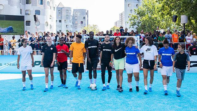 Así fue el acto de presentación de las Nike Mercurial 360