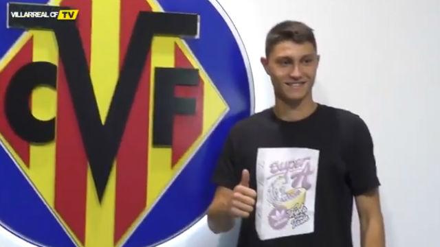 Así ha sido la presentación de Jorge Cuenca con el Villarreal