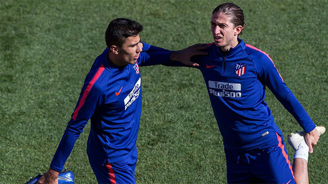 El Atlético recupera efectivos antes de recibir al Barça
