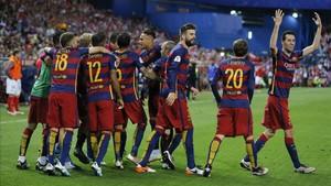 El Barça ya ganó la final de 2016 ante el Sevilla