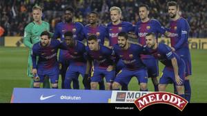 El Barça superó al Girona en el Camp Nou